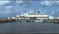 Cruise Ship in Port zoom 2