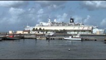 Cruise Ship in Port zoom