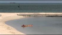 Aruba Rafter in Lagoon