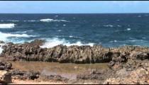 Aruba Ironshore Wave Crash
