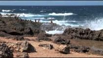 Aruba Ironshore Tourists