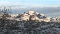 Snowy Arizona Tumacacoris zoom