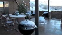 Snow on Furniture pan