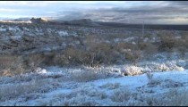 Snowy Arizona Ranch pan