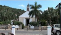 Gustavia Old Church Traffic