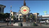 Fishermans Wharf Sign Jogger