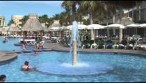 Mayan Palace Pool Fountain pan
