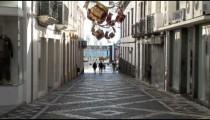 Porta Delgada Retail Alley People zoom