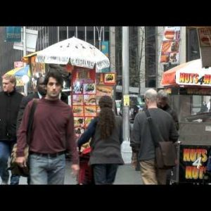 NYC Street Food Stands zooms
