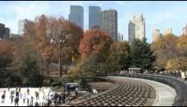 NYC Skyline Central Park Rink