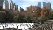 NYC Skyline Central Park Rink pan