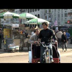 NYC Bike Carriage Tourists