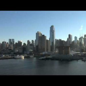 Manhattan Skyline POV