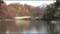 Central Park Lake zoom pan