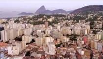 Aerial cityscape - Rio de Janeiro.