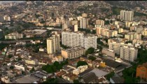 Aerial footage of Rio de Janeiro from land to sea.