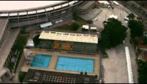 Aerial footage of Maracan