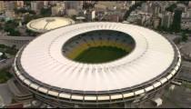 Aerial video of Maracan