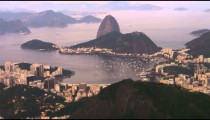 Aerial footage of Brazilian landscape, architecture, and ocean.