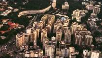 Aerial shot or urban architecture - Rio de Janeiro, Brazil.
