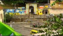 Slow motion shot of a road in Rio de Janeiro, Brazil