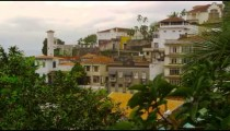 Static shot of a congested community in Rio de Janeiro, Brazil
