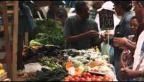 RIO DE JANEIRO, BRAZIL - JUNE 23: Slow motion, buying at market on June 23, 2013 in Rio, Brazil