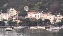 A town along the coastline in Rio de Janeiro, Brazil