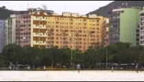 Buildings near a park in Rio de Janeiro, Brazil