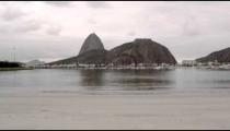 View of Sugarloaf Mountain in Rio de Janeiro, Brazil