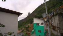 Shot of favela within Rio de Janeiro, Brazil