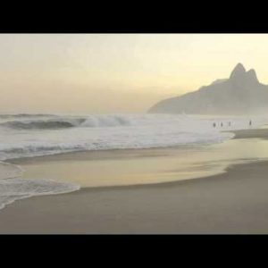 People relaxing on Ipanema beach