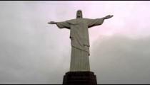 Rio de Janeiro's Christ the Redeemer atop Corcovado Mountain.