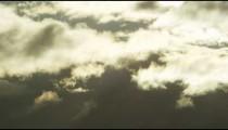 Time-lapse shot of clouds drifting across the sky in Rio De Janeiro