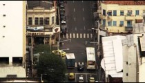 Time lapse footage of busy Rio intersection