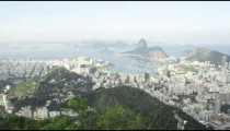 Pan of Rio and harbor from lookout point