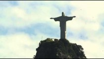 Static footage of Christ the Redeemer statue