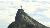 Still footage of Christ the Redeemer statue