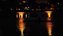 Night kayaking near Rio shore