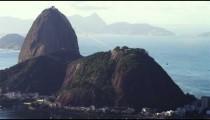 Dramatic Sugarloaf mountain footage