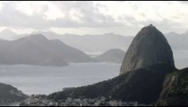 Static panorama of Rio's Sugarloaf Mountain
