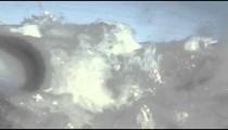 Wave footage in the Atlantic Ocean - Rio de Janeiro, Brazil.