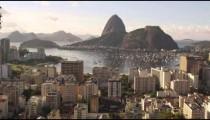 Static shot of downtown Rio de Janeiro, Brazil.