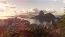 Time-lapse footage with solar flares of Rio, Sugarloaf mountain, and Botafogo Bay.