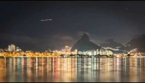 Sped-up video of Twin Brothers, from dusk to dark, from Loagoa Rodrigo Freitas.