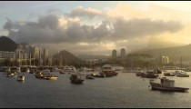 Time-lapse of boats on Guanabara Bay in Rio.