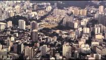 Aerial shot of Maracan