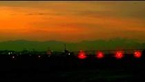 Plane flying low into the Jacarepagu