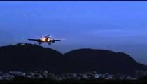 Plane lands at Jacarepagu