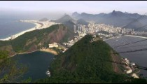 Shot of Rio de Janeiro as seen from the Sugarloaf Mountain in Brazil